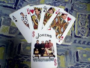 Seinfeld playing cards